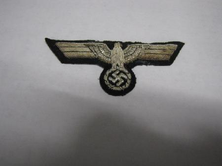 ML-1000, WWII German Army Officer's Breast Eagle - Patches