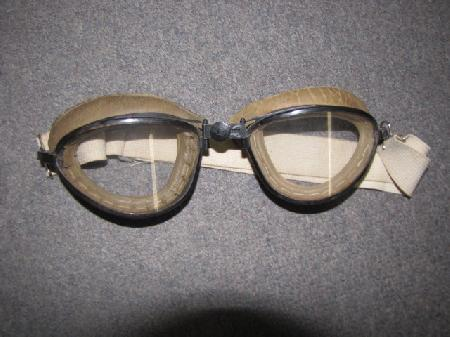 Av 511 1930s Wwii Us Aviator S Goggles Made By American