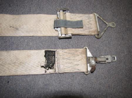 Av 737 Korean War Era F 86 Sabre Jet Seat Belt