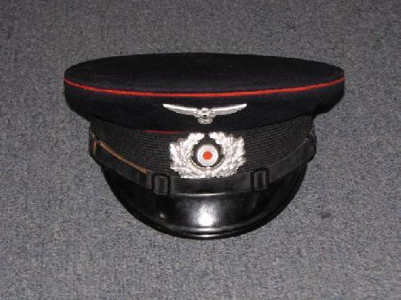 2bf569f7d69 ... WWII German Veterans association visor cap. Our Price   499.95. Item   17573
