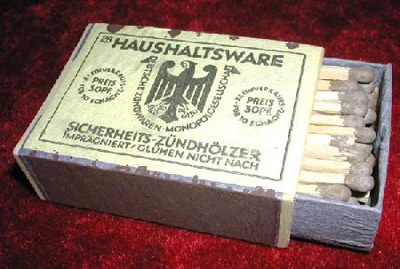 Post WWII era German Match Boxes.