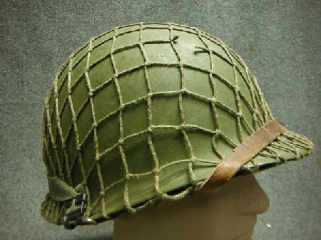 Korean War Medic Helmet - STEEL AND KEVLAR HELMETS - U.S. ...