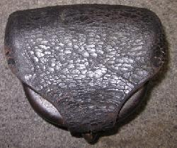 click to see sale-sp275-civil-war-cap-pouch-unmarked-so-it-could-be-federal-or-confederate