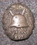 click to see sale-ml056-wwi-german-silver-wound-badge