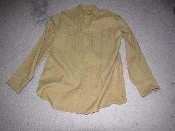 click to see sale-uwu0008-wwii-us-army-dark-green-uniform-shirt