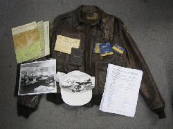 click to see sale-uwa0015-wwii-us-army-air-force-named-15th-combat-cargo-squadron-cbi-a2-jacket-and-accessories