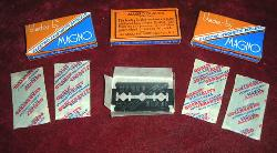 click to see sale-um093-wwii-us-razor-blades-150-3-packs-of-5-blades-each