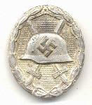 click to see sale-ml712-wwii-german-silver-wound-badge