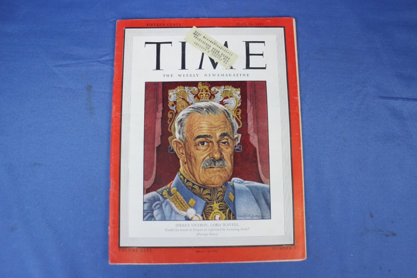 Uwb 0087 wwii us time magazine dated 16 july 1945 military