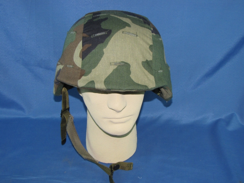 Umh 0005 Modern Us Army Kevlar Helmet With Camo Cover