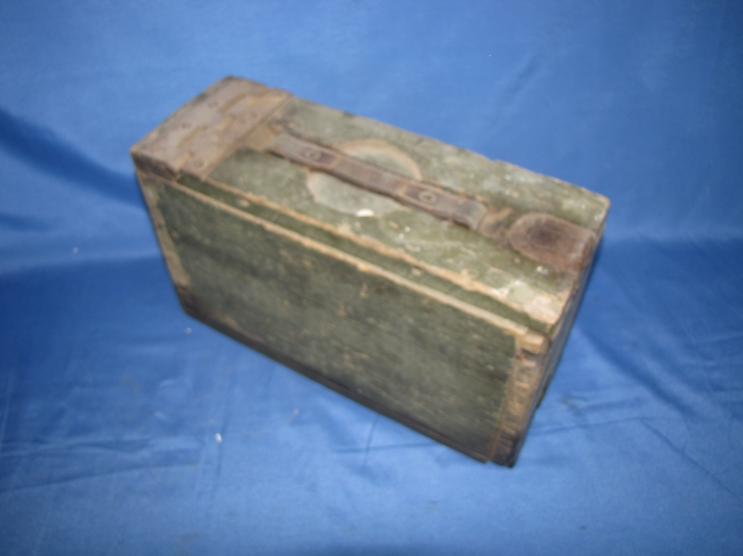 Military Antiques And Museum Uxg 0072 Wwi Us Army 30 Cal Wood