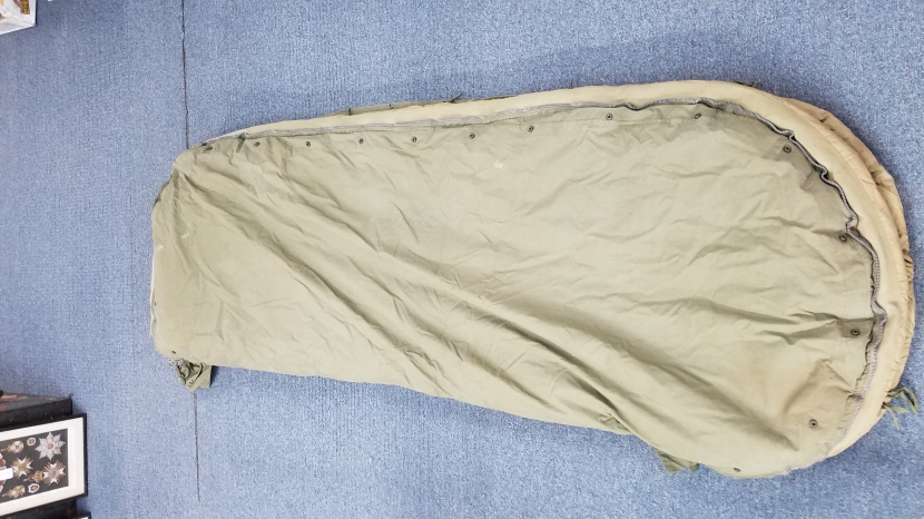 Air Sleeping Bag : Uwa wwii us army air force a sleeping bag field