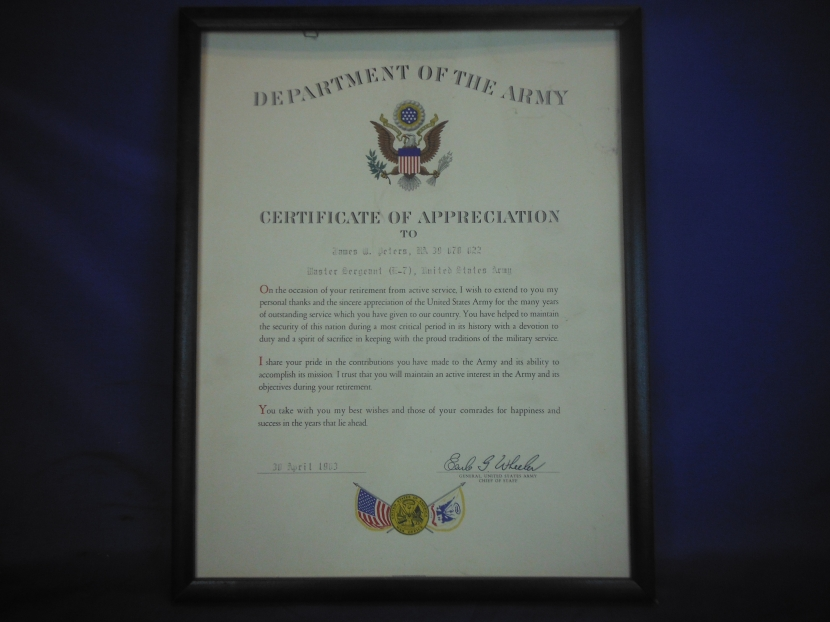 Udm 0001 cold war era us army commendation medal set with google yadclub Gallery