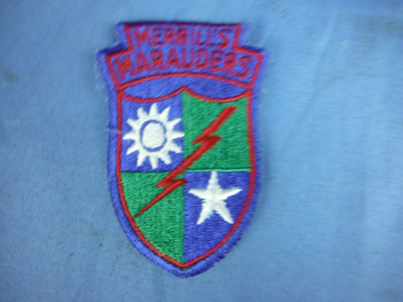 5307th composite unit (provisional) patch style unit crest.