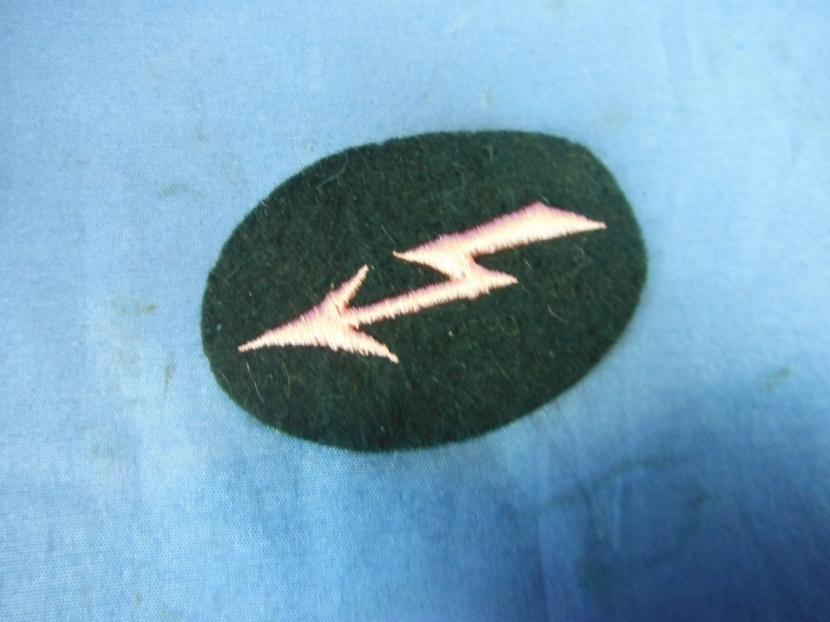 Gwi 0177 Wwii German Ss Sleeve Patch For Waffen Ss Military