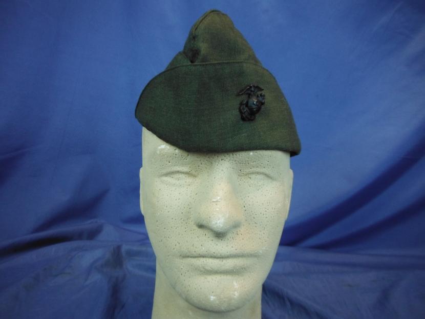 uyu 0051 postwar usmc garrison cap military antiques and museum