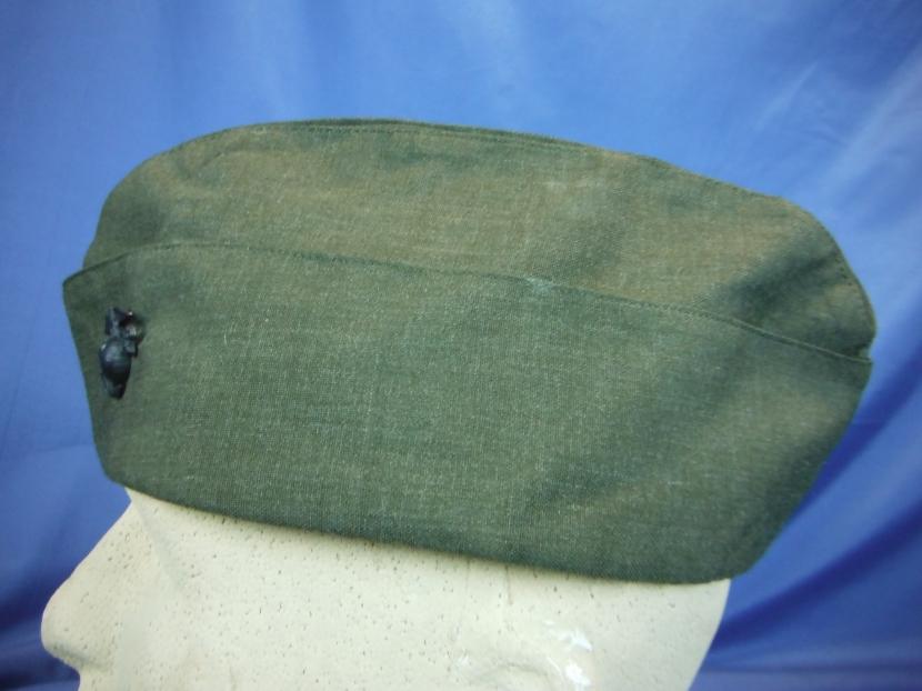 uyu 0051 postwar usmc garrison cap vietnam war military antiques