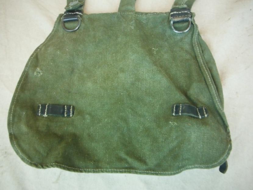 GWG-0116 WWII German Army Bread Bag - Field Gear - Military Antiques