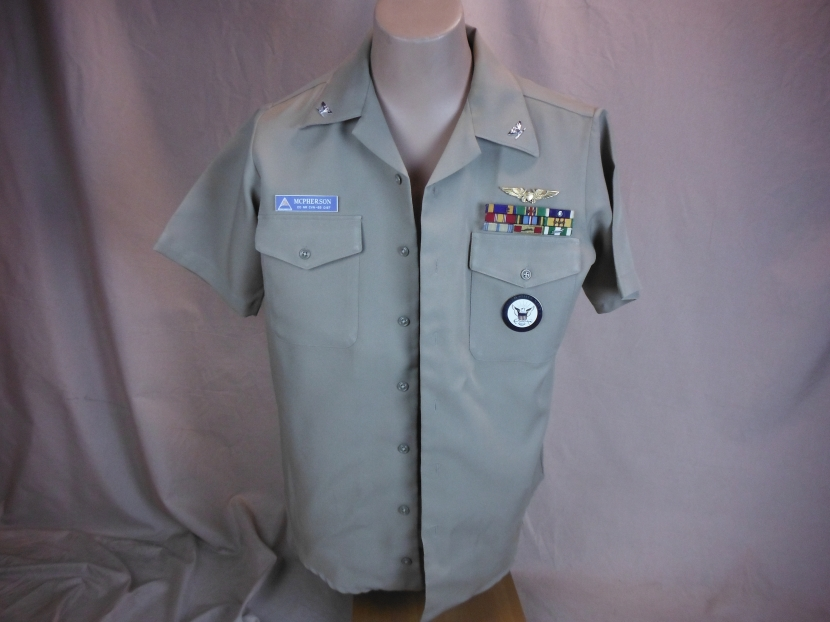 UVU-0072 Vietnam War Era US Navy Summer Weight Uniform Shirt with