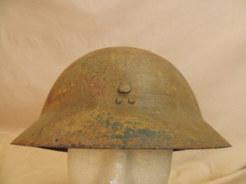 JWH-0015 WWII Era Japanese Type 90 Civil Defense Helmet - Helmets