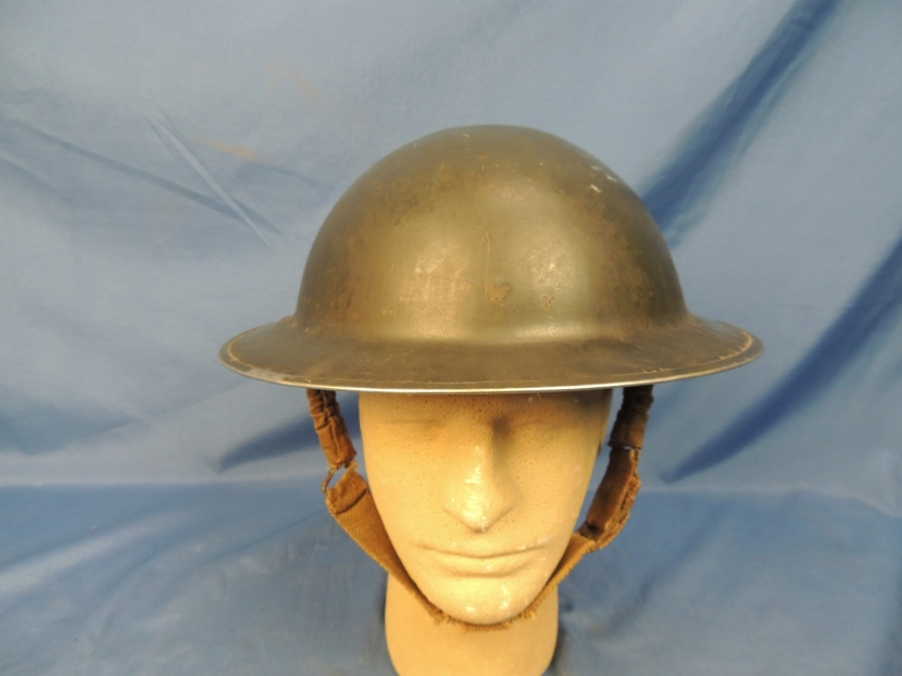 Military Antiques and Museum - - BWH-0027 WWII Era British Brodie