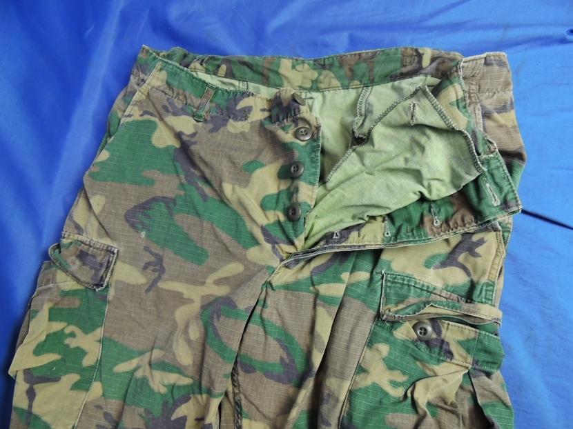 UVU-0148-CW Vietnam War Era US Highland ERDL Pants - Uniforms and