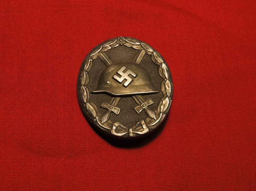 GWM-0281-CW WWII German Army Wound Badge in Silver
