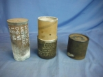 click to see sale-uwo0062cw-wwii-us-75mm-blank-m337a1e1-shell-casing-with-packing-tube