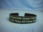 click to see umq0011mam-modern-us-iraqi-freedom-miakia-bracelet