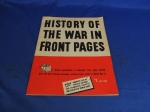 click to see sale-uyb0056cw-the-history-of-the-war-in-front-pages-book