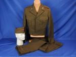 click to see sale-uku0626jeg-wwii-signal-corps-uniform-set